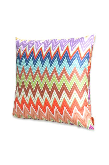 MISSONI HOME VALENTINO CUSHION Brown E - Back