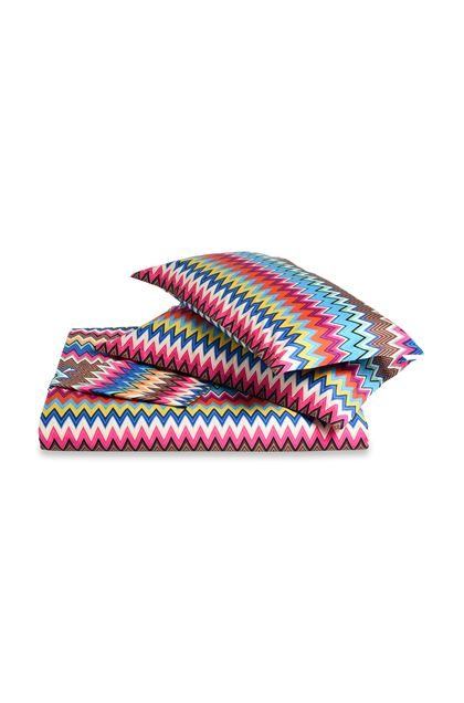 MISSONI HOME VALENTINO DUVET COVER SET Fuchsia E - Back