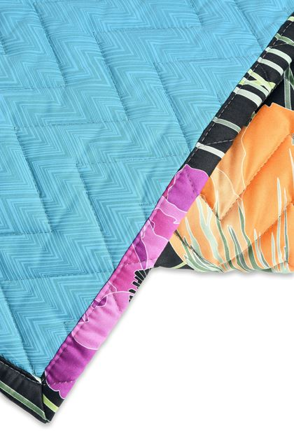 MISSONI HOME VERONICA QUILT Black E - Front