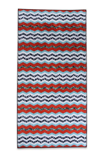 MISSONI HOME VICTOR TOWEL Light grey E - Back