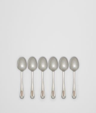 VINTAGE STAINLESS-STEEL TEA/COFFEE SPOON SIX-PIECE SET