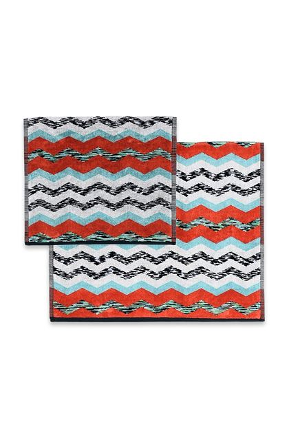 MISSONI HOME VICTOR LOT DE 2 Brique E - Devant