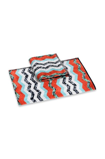 MISSONI HOME VICTOR 2-PIECE SET Brick red E - Back