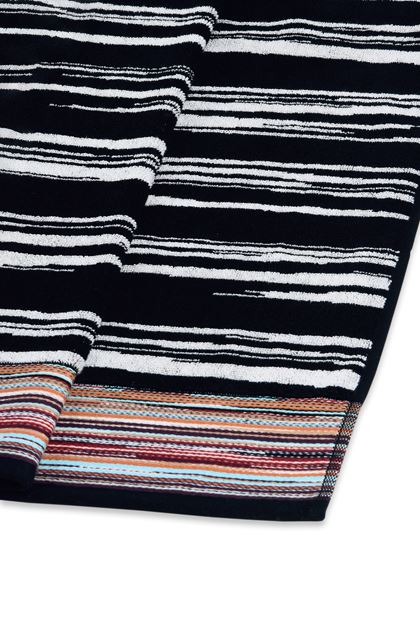 MISSONI HOME VINCENT SERVIETTE Noir E - Devant