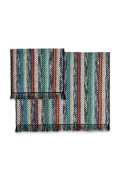 MISSONI HOME VIRGINIO LOT DE 2 Vert E - Devant