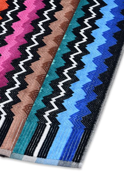 MISSONI HOME VASILIJ TOWEL Black E - Front
