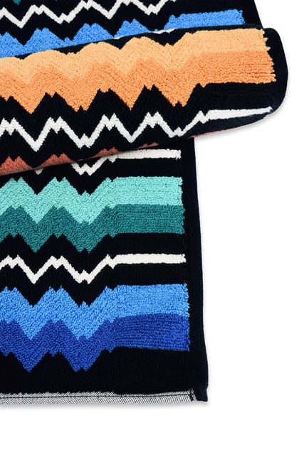 MISSONI HOME VASILIJ BATH MAT  Black E - Front