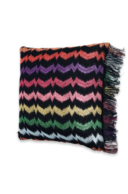 MISSONI HOME VERBENA CUSHION Black E - Back