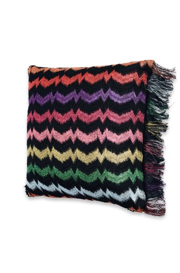 MISSONI HOME 12x24 in. Cushion E RAINBOW CUSHION m