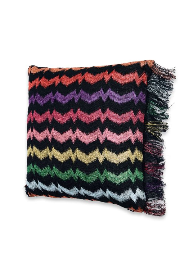 MISSONI HOME VERBENA CUSHION E, Frontal view