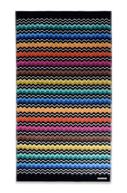 MISSONI HOME VASILIJ BEACH TOWEL Black E - Back
