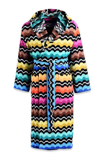 MISSONI HOME VASILIJ BATHROBE Black E - Back