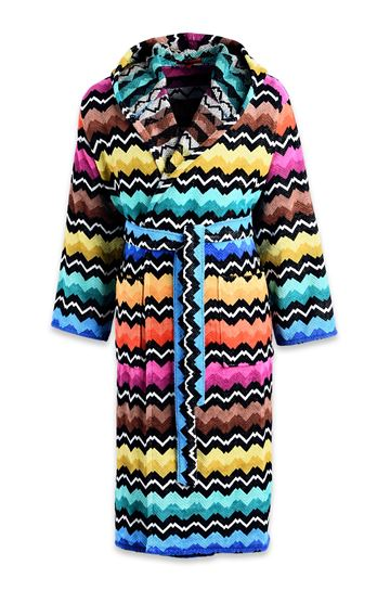 MISSONI HOME Towelling robe E VASILIJ HOODED BATHROBE m