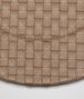 BOTTEGA VENETA ASH INTRECCIATO NAPPA LEATHER CHARGER TABLETOP E ap