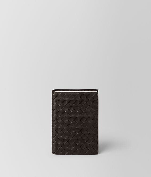 BOTTEGA VENETA ESPRESSO INTRECCIATO NAPPA LEATHER TRAVEL NOTEBOOK NOTEBOOK E fp