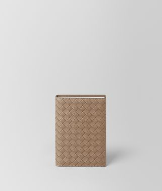 ASH INTRECCIATO NAPPA LEATHER TRAVEL NOTEBOOK