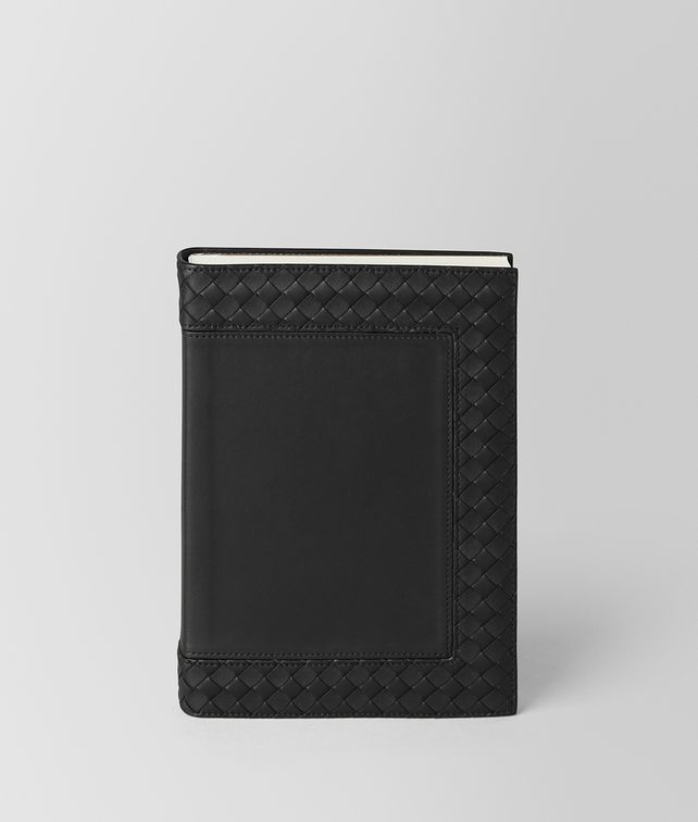 BOTTEGA VENETA NERO INTRECCIATO NAPPA LEATHER NOTEBOOK NOTEBOOK E fp