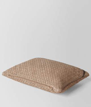 CIGAR INTRECCIATO SUEDE RECTANGULAR PILLOW