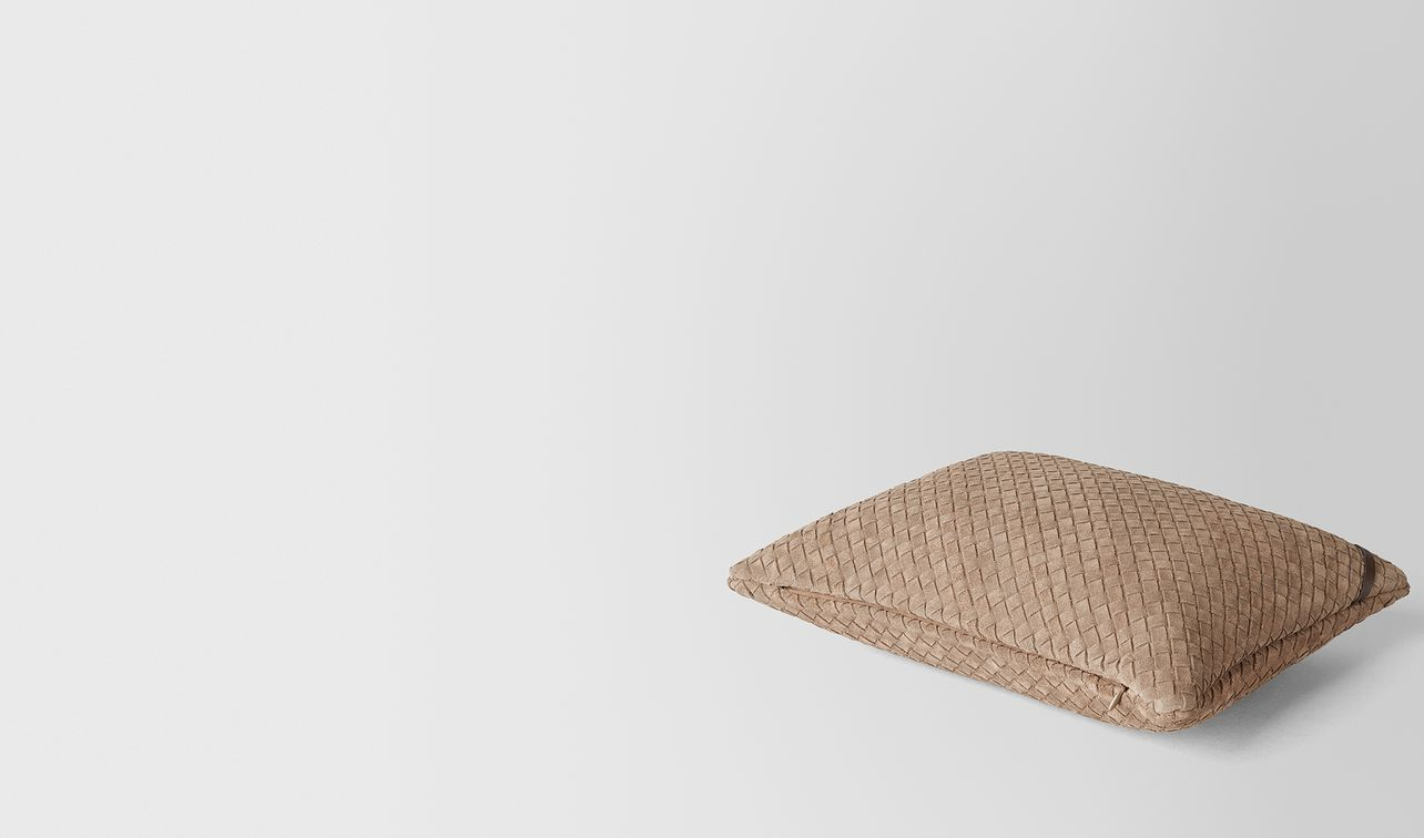 cigar intrecciato suede rectangular pillow landing