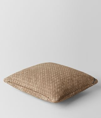 CIGAR INTRECCIATO SUEDE SQUARE PILLOW