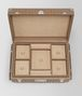 BOTTEGA VENETA ASH INTRECCIATO NAPPA LEATHER JEWELLERY TRAVEL CASE BOX E dp