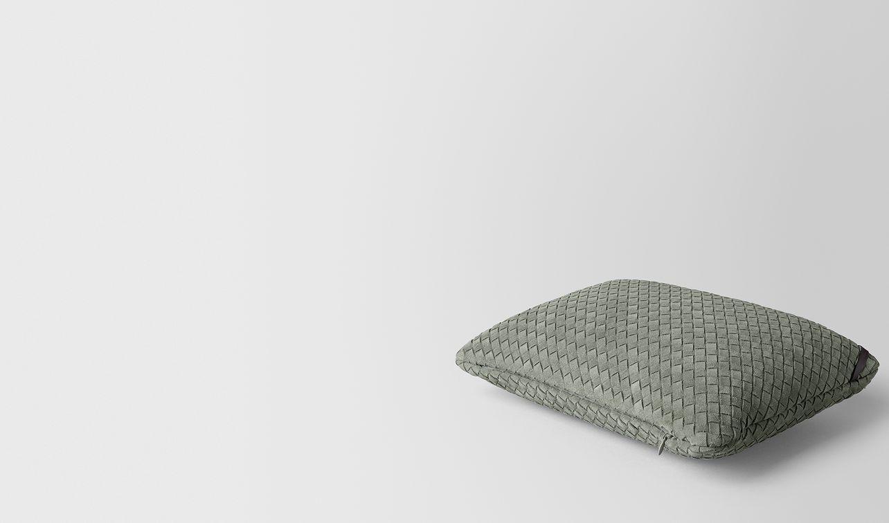 artichoke intrecciato suede rectangular pillow landing