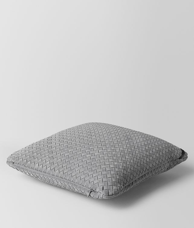 BOTTEGA VENETA DOE INTRECCIATO SUEDE SQUARE PILLOW Pillow E fp