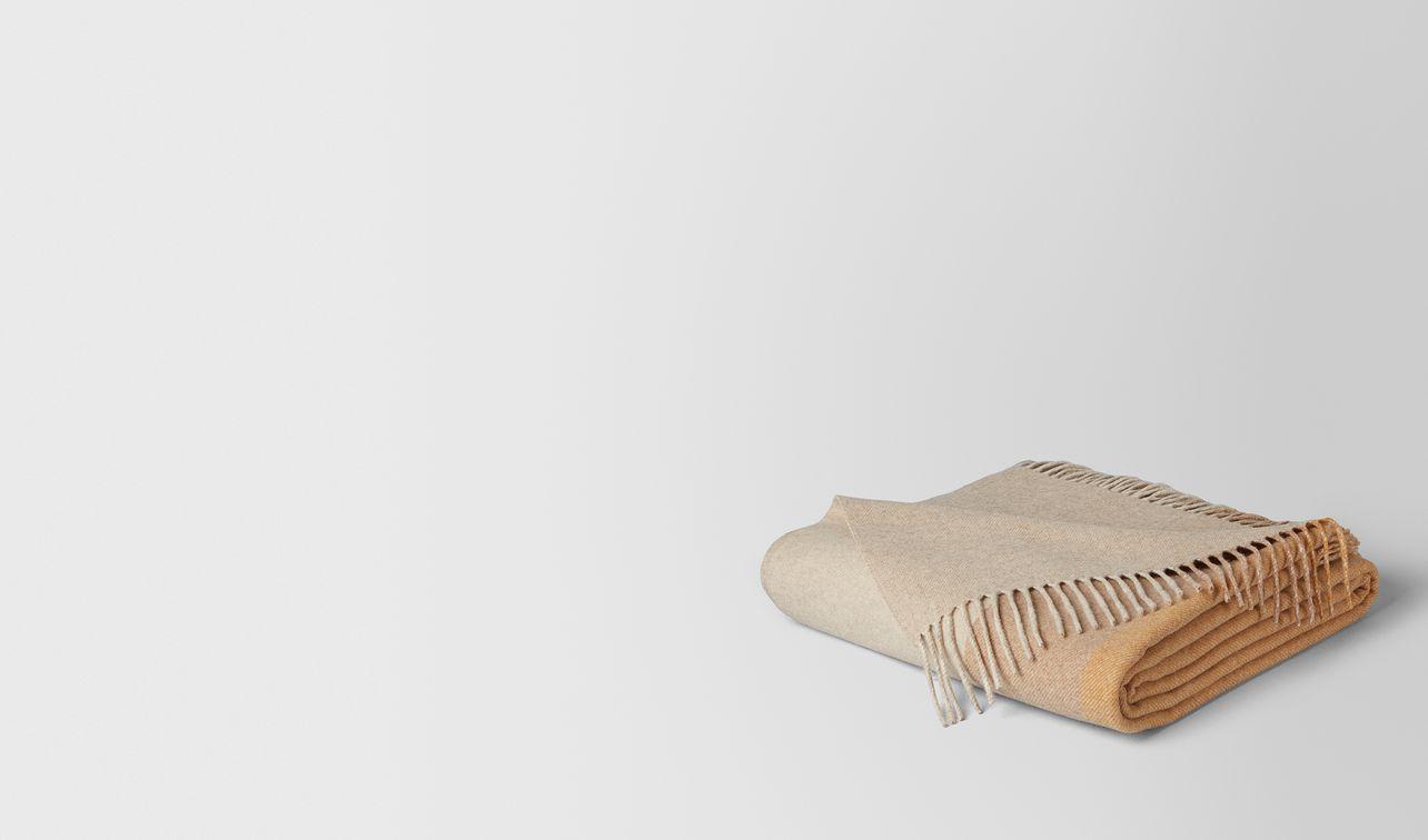 ivory yellow cashmere atlantis blanket  landing