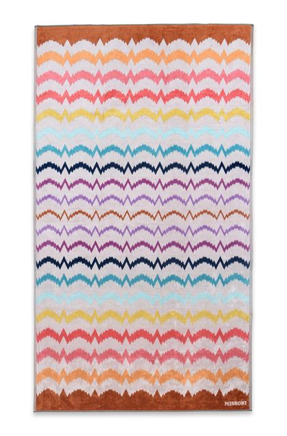 MISSONI HOME VERA BEACH TOWEL Beige E - Back