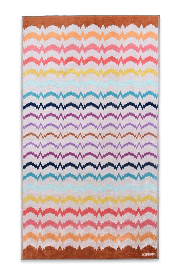MISSONI HOME VERA BEACH TOWEL E, Frontal view