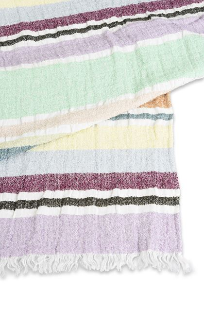 MISSONI HOME VITTORE BEACH TOWEL Green E - Front