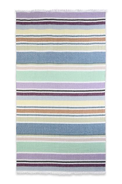 Missoni Home Vittore Beach Towel Green E Back