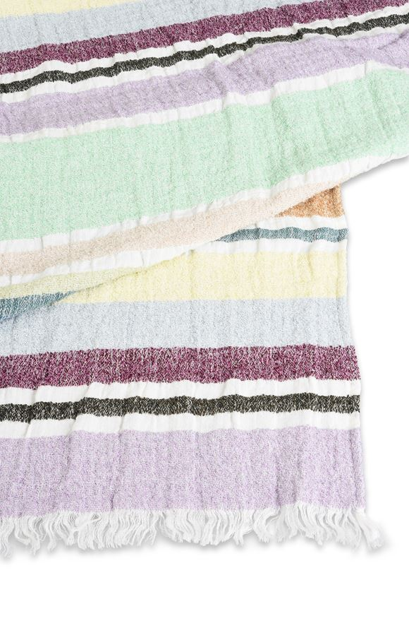 MISSONI HOME VITTORE BEACH TOWEL E, Rear view