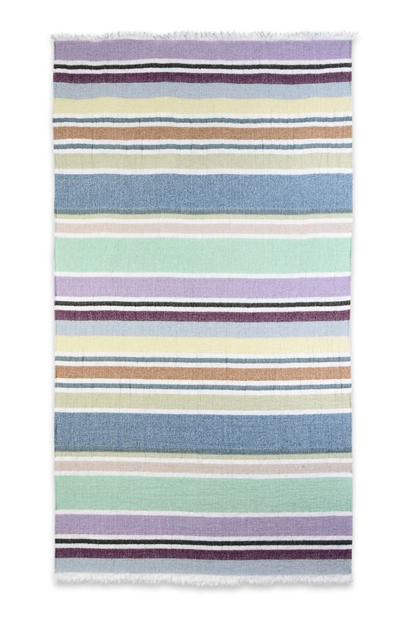 MISSONI HOME VITTORE BEACH TOWEL E, Frontal view