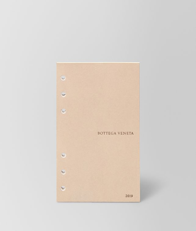 BOTTEGA VENETA AGENDA REFILL PAGES NOTEBOOK E fp