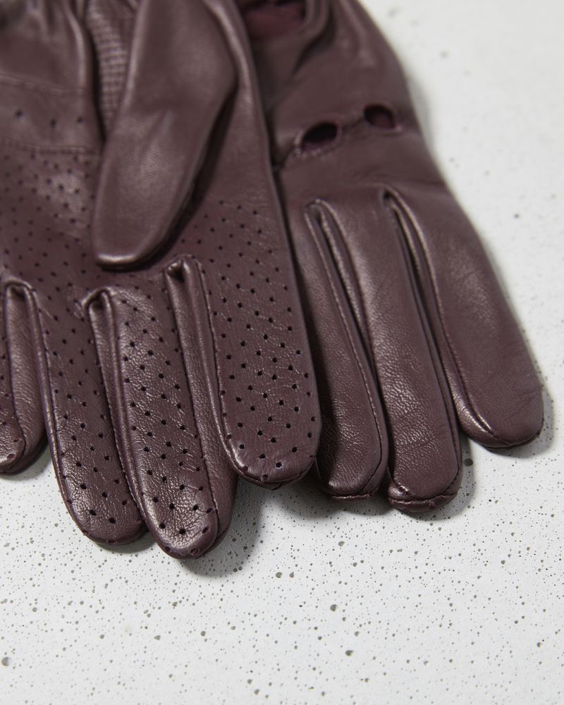 ROADY leather gloves ISABEL MARANT