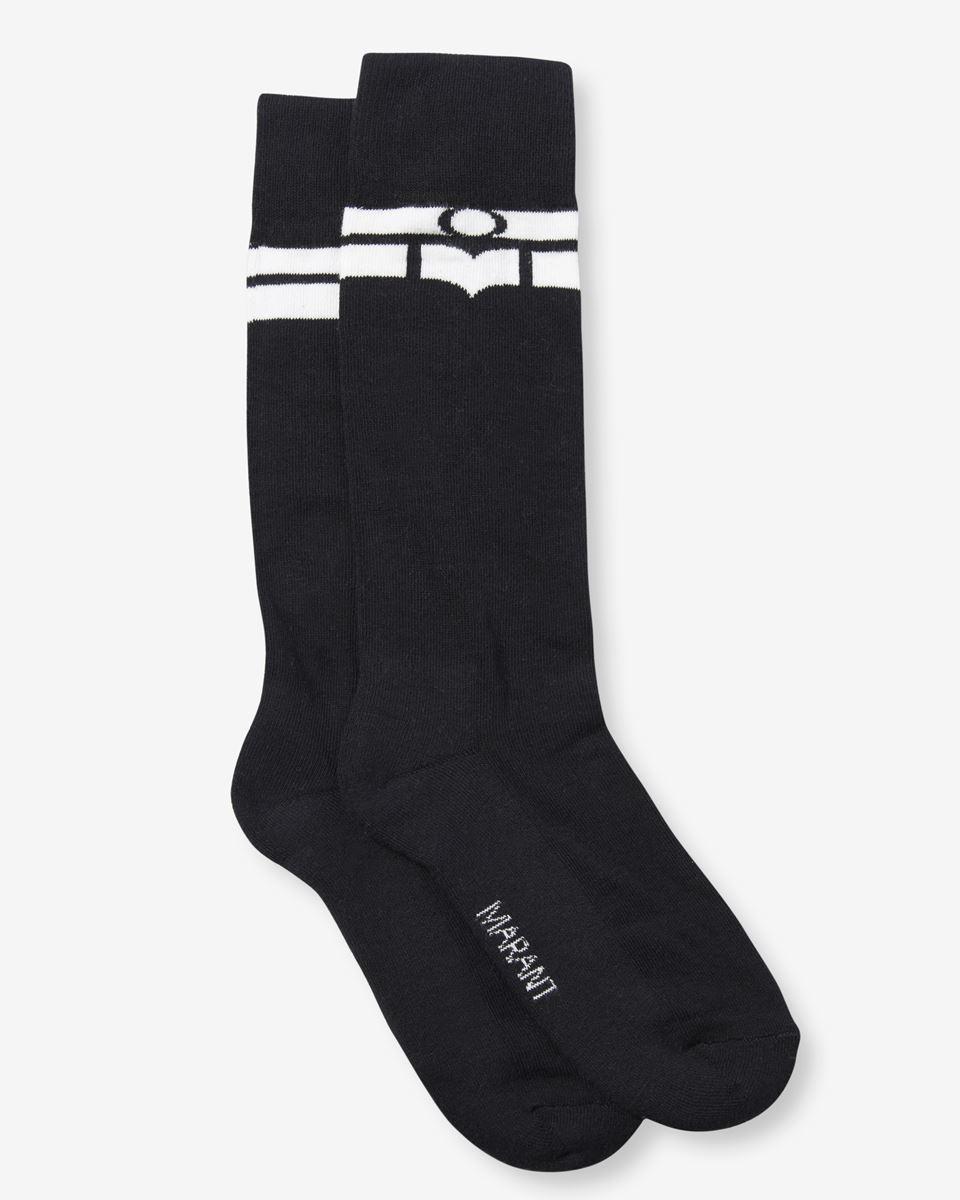 Isabel Marant - VIBE logo socks - 1