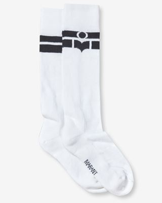 ISABEL MARANT SOCKS & TIGHTS Woman VIBE logo socks r