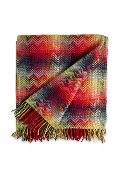 MISSONI HOME MONTGOMERY THROW Fuchsia E - Back