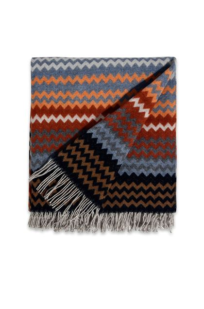 MISSONI HOME HUMBERT THROW Brown E - Back