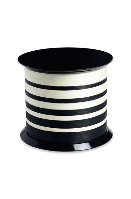MISSONI HOME SPOOL TABLE  Black E - Front