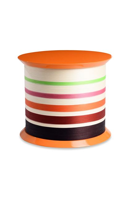 MISSONI HOME SPOOL TABLE  Orange E - Front