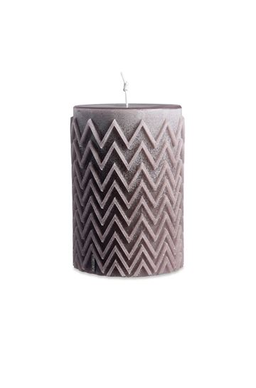 MISSONI HOME Candle E CHEVRON CYLINDRICAL CANDLE m
