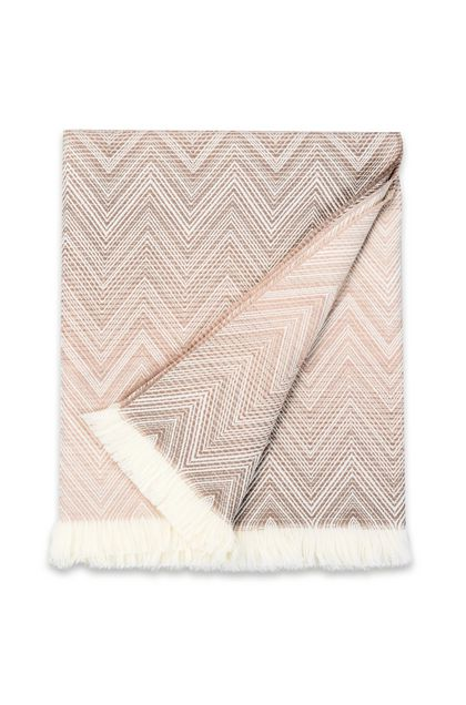 MISSONI HOME TIMMY THROW Beige E - Back