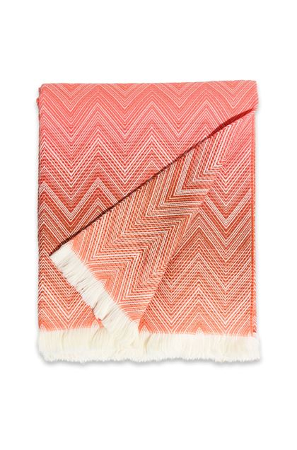 MISSONI HOME TIMMY THROW Salmon pink E - Back