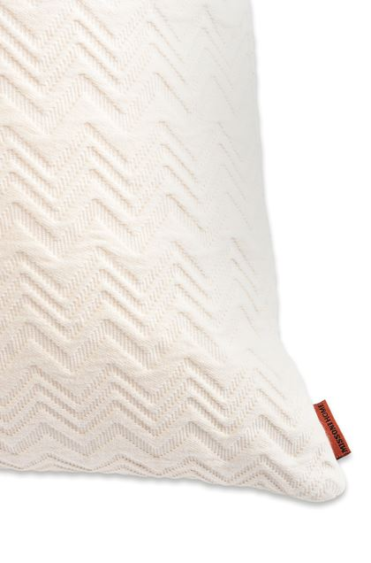 MISSONI HOME GRETEL CUSHION Ivory E - Front