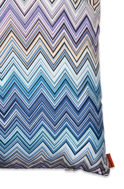 MISSONI HOME JOHN CUSHION Blue E - Front