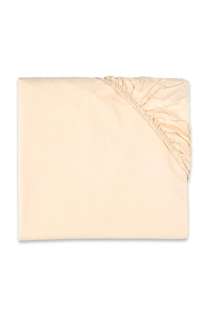 MISSONI HOME JO FITTED SHEET Beige E - Front