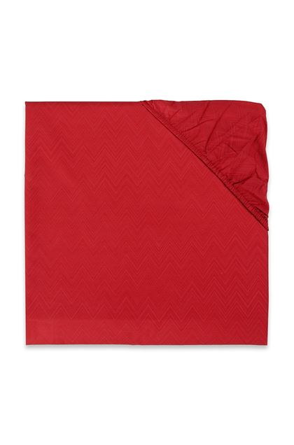 MISSONI HOME JO FITTED SHEET Red E - Front