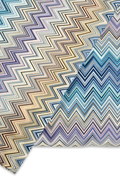 MISSONI HOME JOHN DUVET COVER  Blue E - Front